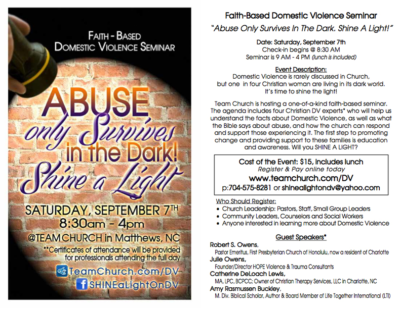 Shine A Light on Abuse Conference