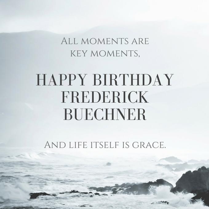 Happy Birthday Fred Buechner